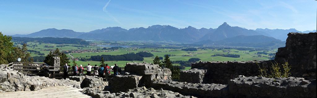 Blick von Ruine Freyberg Eisenstein